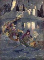 The Twelve Dancing Princesses by Arthur Rackham