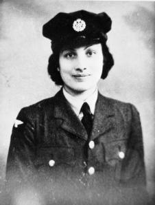 Wartime photo of Noor Inayat Khan, from the Imperial War Museum