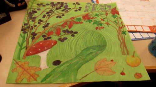 brambly hedge display 1